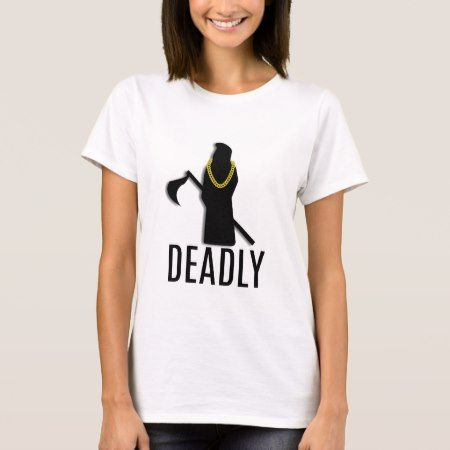 Deadly Repaer Gold Chain T-Shirt - click/tap to personalize and buy