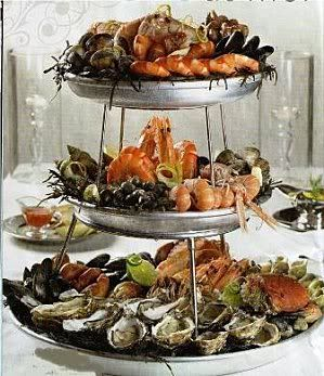 Plateau-de-fruits-de-mer- an all time fave of mine! Vive La Rochelle & Ile de Re'!!