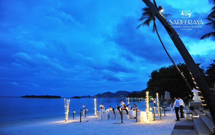 Beautiful and Private Dinner Reception on the Beach. This is perfect especially for Weddings with less than 20 guests.