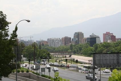 Find accommodations near Sanitago's airport in Chile.