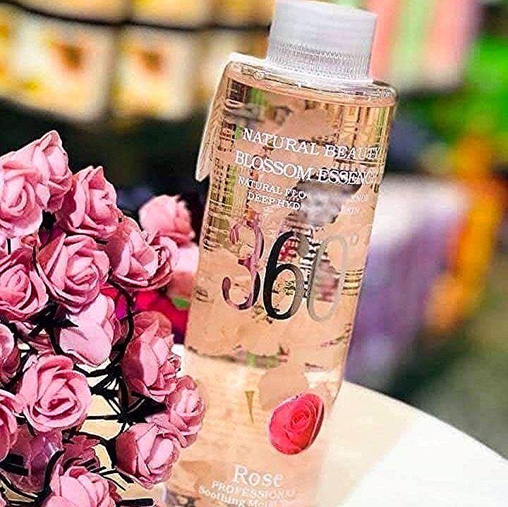 جديد Makeupqueen الإبداع مستمر ماء ورد خلاصة أوراق الزهور الطبيعية تونر ماء ورد Voss Bottle Bottle Water Bottle
