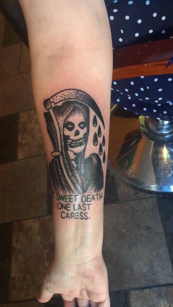 here's a pic of my tattoo i got last week. - sad girls