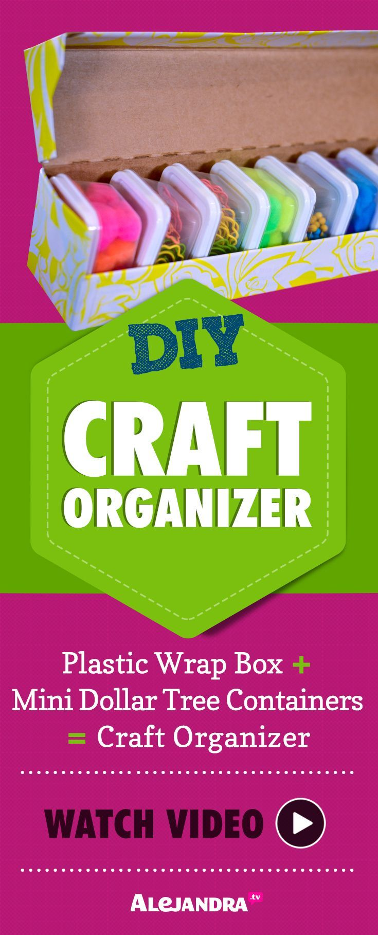 Best Dollar Store Organization Ideas Images On Pinterest
