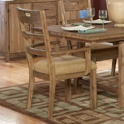 @Overstock - This set of 2 wooden armchairs makes a great addition to your country kitchen or rustic dining room decor. Finished in driftwood, these chairs offer natural beauty and stylish simplicity. Chenille seat cushions provide for a soft and elegant touch.http://www.overstock.com/Home-Garden/Nat-Arm-Chairs-Set-of-2/5963452/product.html?CID=214117 $304.99