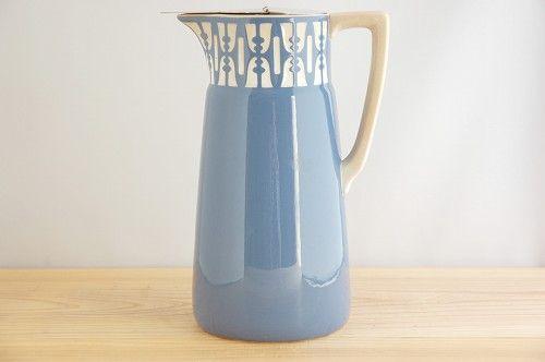 フィンランドで見つけた陶器の魔法瓶の画像