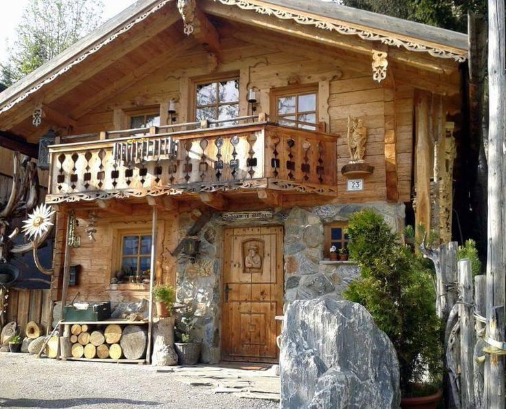 25 best ideas about chalet style on pinterest ski for Holzchalet bauen