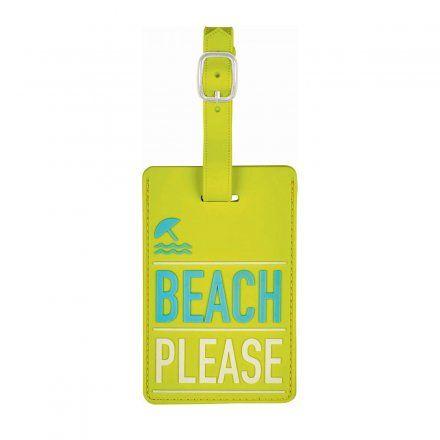 Fernweh Kofferanhänger beach please