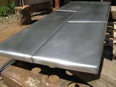 HEAVY METAL WORKS: Zinc Coffee Table