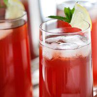 #Claret Lemonade Wine Cocktail - Live In Style
