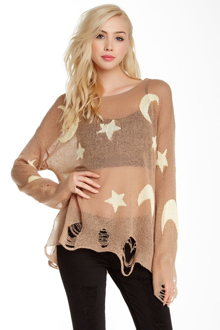 Night Owl Sweater by WILDFOX on @nordstrom_rack