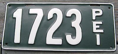 1920 20 PRINCE EDWARD ISLAND PEI CANADA LICENSE PLATE NICE RARE TAG SELDOM SEEN