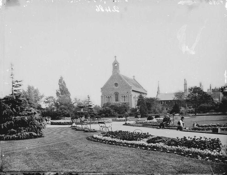 Forbury Gardens, Reading, c. 1875.jpg Church readings