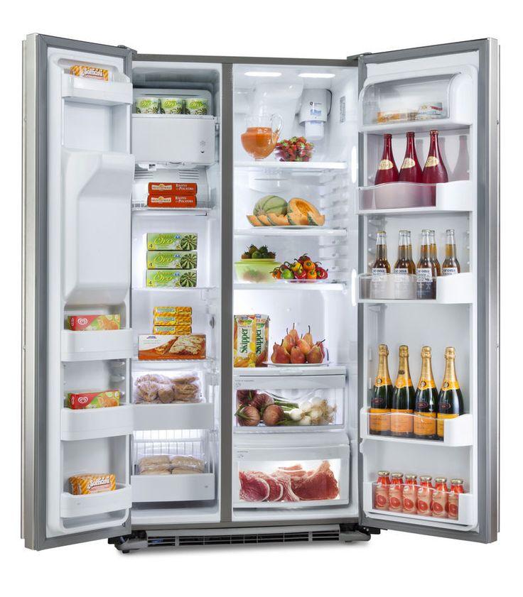 Guarda la comida en un refrigerador para hacer la comida