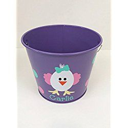 Personalized Easter Bucket / Basket- White Chick