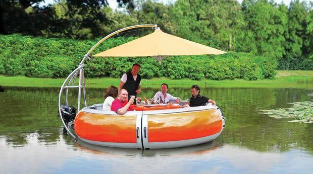 BBQ Boat ($50,000)  ❤️ DesignAndTech.net