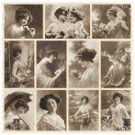 PD138 Zdjęcia Ladies - From Grandmas Attic