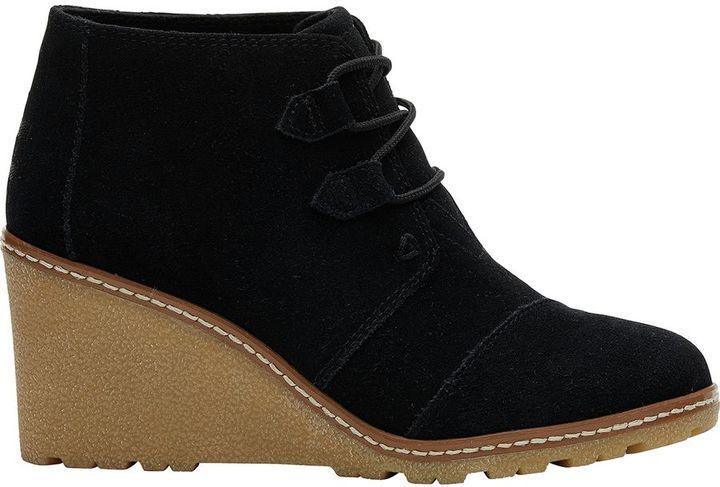 Toms Desert Wedge Boot