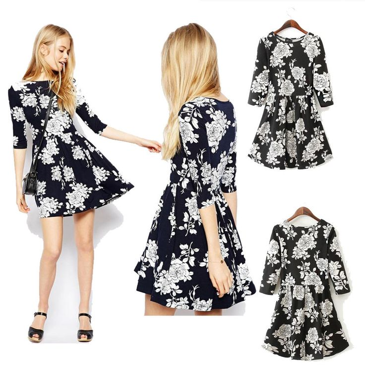 Women Sexy Floral Casual Short Dress Party Evening Cocktail Mini Casual Dresses #DL #StretchBodycon #Clubwear