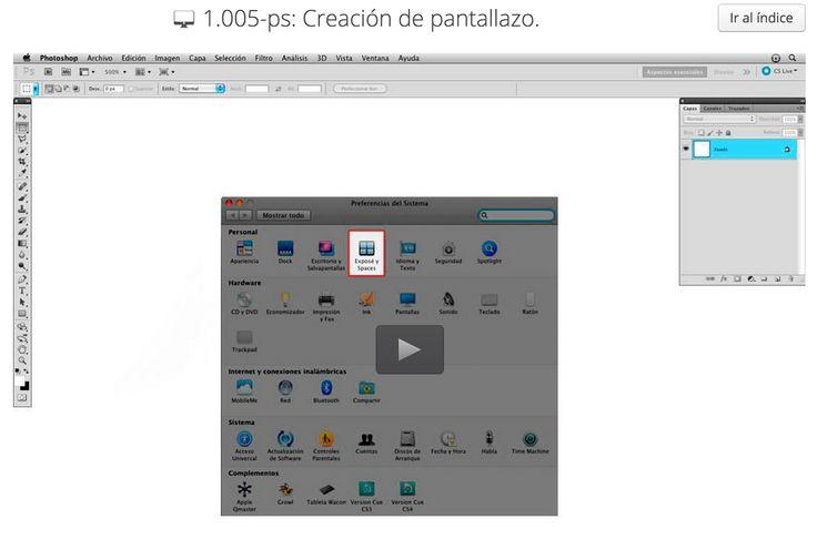 1.005-ps: Creación de pantallazo.Presentación de algunas funcionalidades con selecciones como trabajar con el interior o exterior de la selección asi como algunas funciones como contornear y cortar.