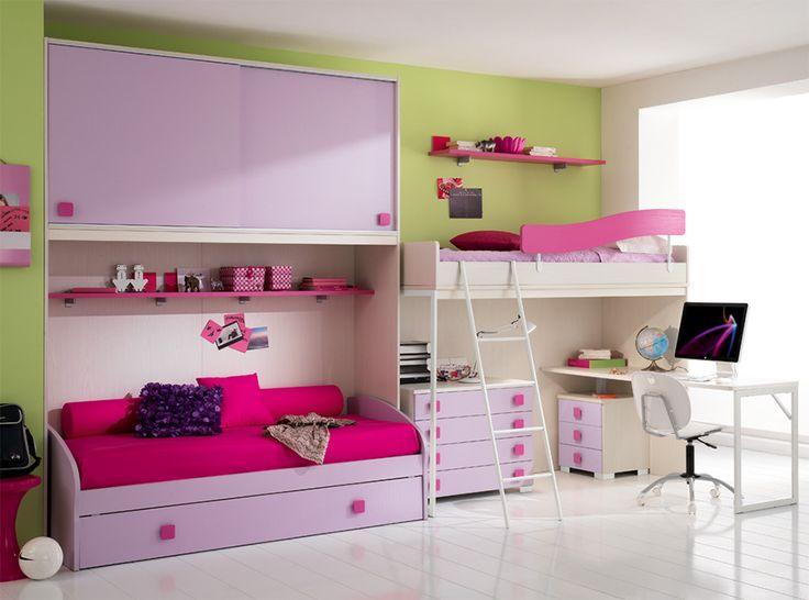 Italian Kids Room Furniture Set ONE 606 by SPAR