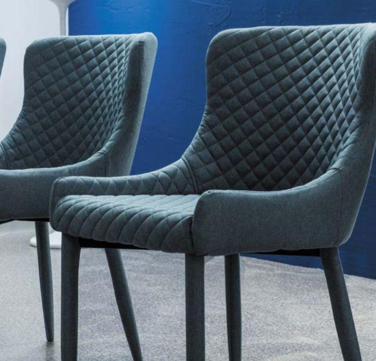 Krzesło COLIN to nowoczesne krzesło tapicerowane. Tkanina wykorzystana do tapicerowania krzesła cechuje się wysoką trwałością, a eleganckie pikowanie dodaje całości niezwykłego uroku. http://mirat.eu/krzeslo-colin,id29042.html