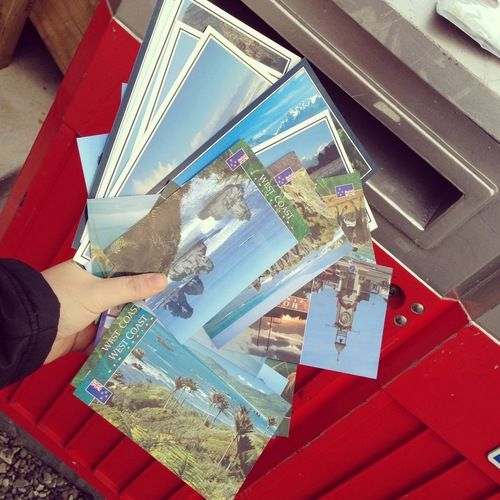 Fulfilling Pledge Me rewards! Postcards coming at you - thank you pledgers!!