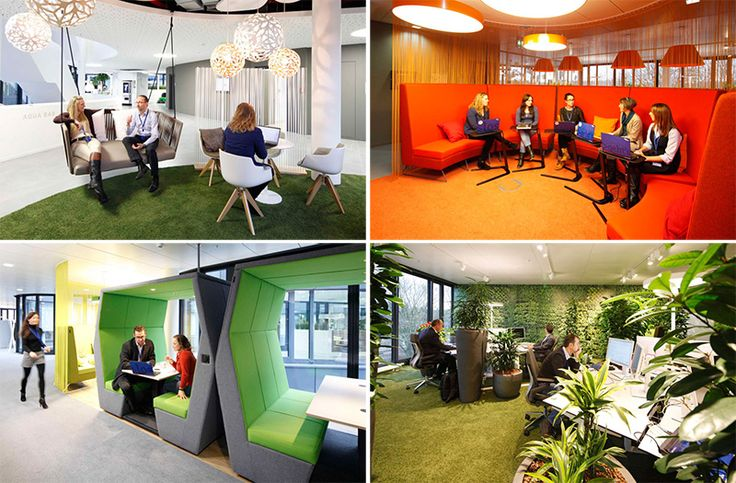 This Office Space Is Designed To Encourage Informal And Accidental Meetings | CONTEMPORIST
