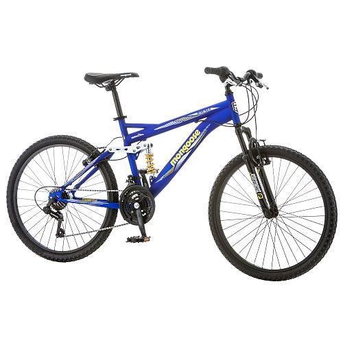 "Boys 24 inch Mongoose Ravage Bike - Blue - Mongoose - Toys ""R"" Us"