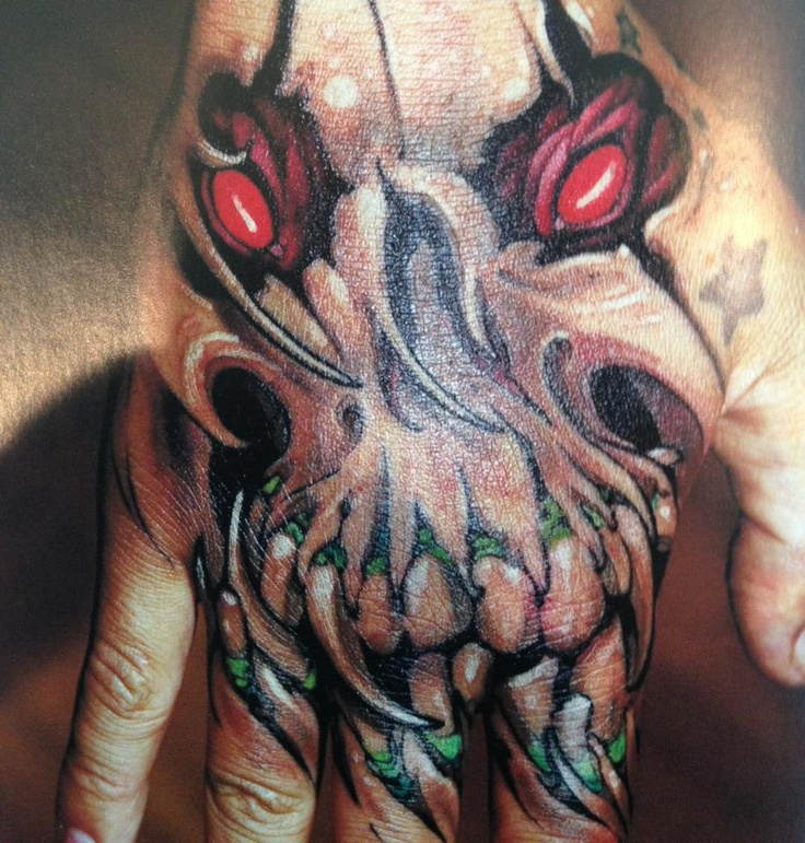 359 best images about tattoos on pinterest zombie for Black claw tattoo