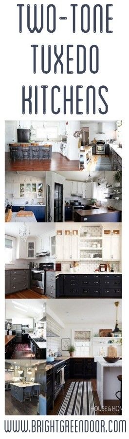 vintage kitchen cabinets the look two tone tuxedo kitchen the two two tones and 27985