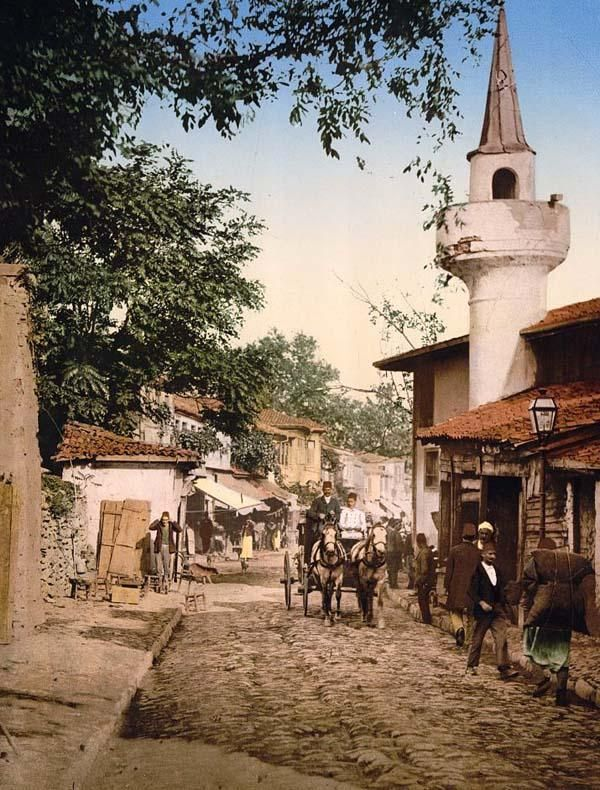 Scutari, Constantinople, Turkey, 1890 and 1900