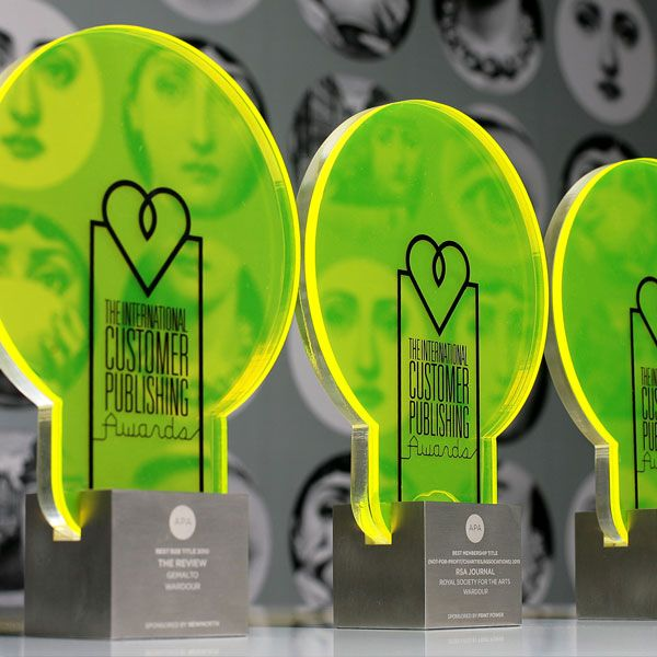 Here at EFX we design and manufacture bespoke acrylic awards and trophies. Our collection includes Perspex award and trophies. For details visit our website!
