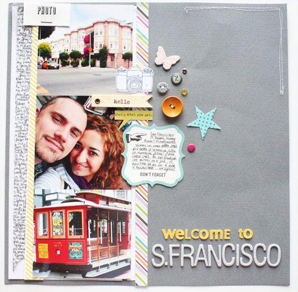 Welcome to San Francisco, Loredana Bucaria
