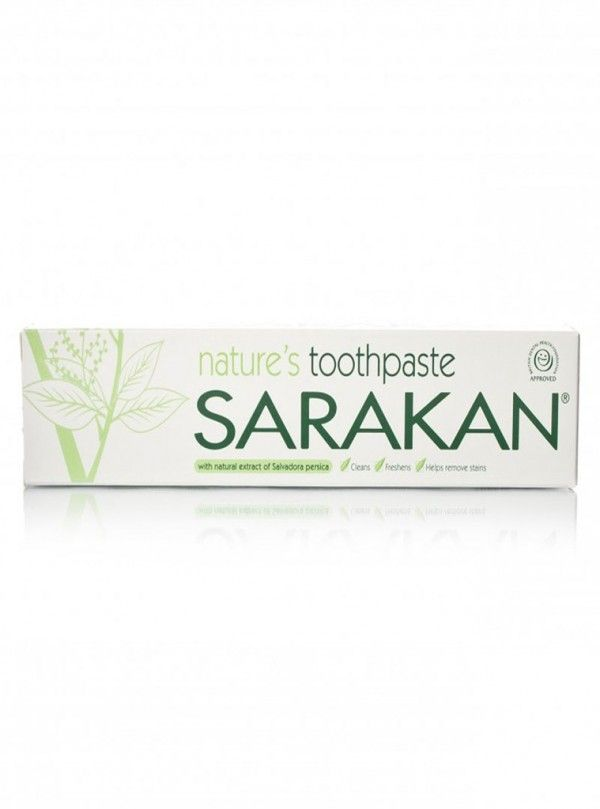 Both the toothpaste and mouthwash are made from the extract of Salvadora persica and flavoured with peppermint, clove and geranium. They are suitable for both adults and children, contain no sugar, alcohol, artificial colours or preservatives are sodium lauryl sulphate free.     Fluoride-free     Vegan     Unsweetened     No added colours or preservatives     No Parabens     Approved by the British Dental Health Foundation.