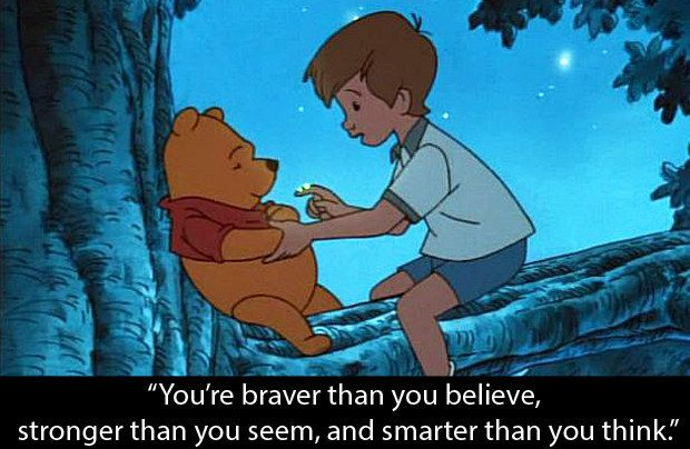 Pooh's Grand Adventure: The Search for Christopher Robin: When Christopher says this. | 15 Film Moments That Helped People Through Their Depression
