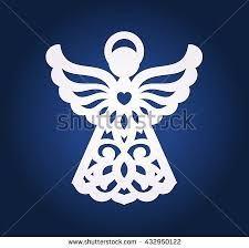 Resultado de imagen para angeles en cortados en laser