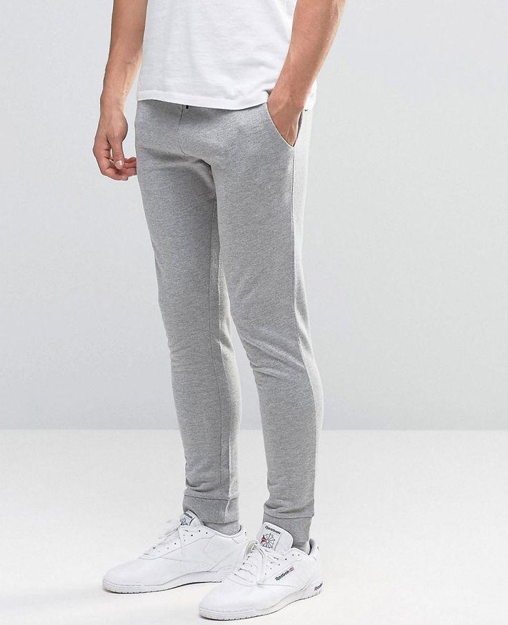 Jack & Jones Core Sweat Joggers with Branding - Gray