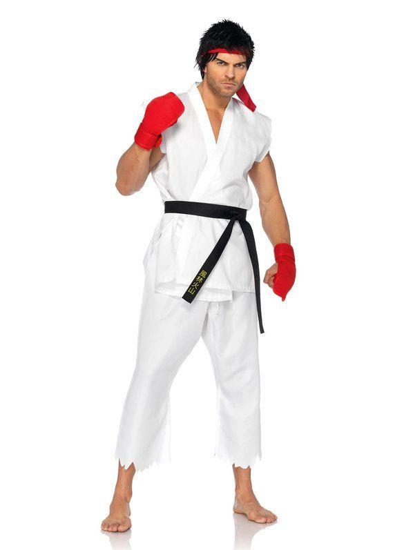 Street Fighter Ryu Costume Adult