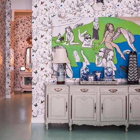 Esszimmer Wohnideen Möbel Dekoration Decoration Living Idea Interiors home dining room - Weiß eklektische Esszimmer