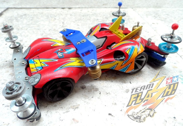 Spin Axe in Super 2 Chassis