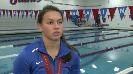 Deaf St. Clair teen is breaking swimming records | Sports  - Home