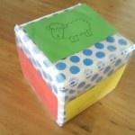 Dobbelsteen maken van een doos