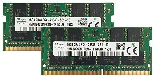 Introducing Hynix Original 32GB 2x16GB Laptop Memory Upgrade for MSi GS60 6QE 021PT Ghost Pro DDR4 2133 PC417000 SODIMM 2Rx8 CL15 12v Notebook RAM Adamanta. Great product and follow us for more updates!