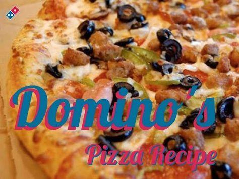 Domino's Pizza Dough Recipe
