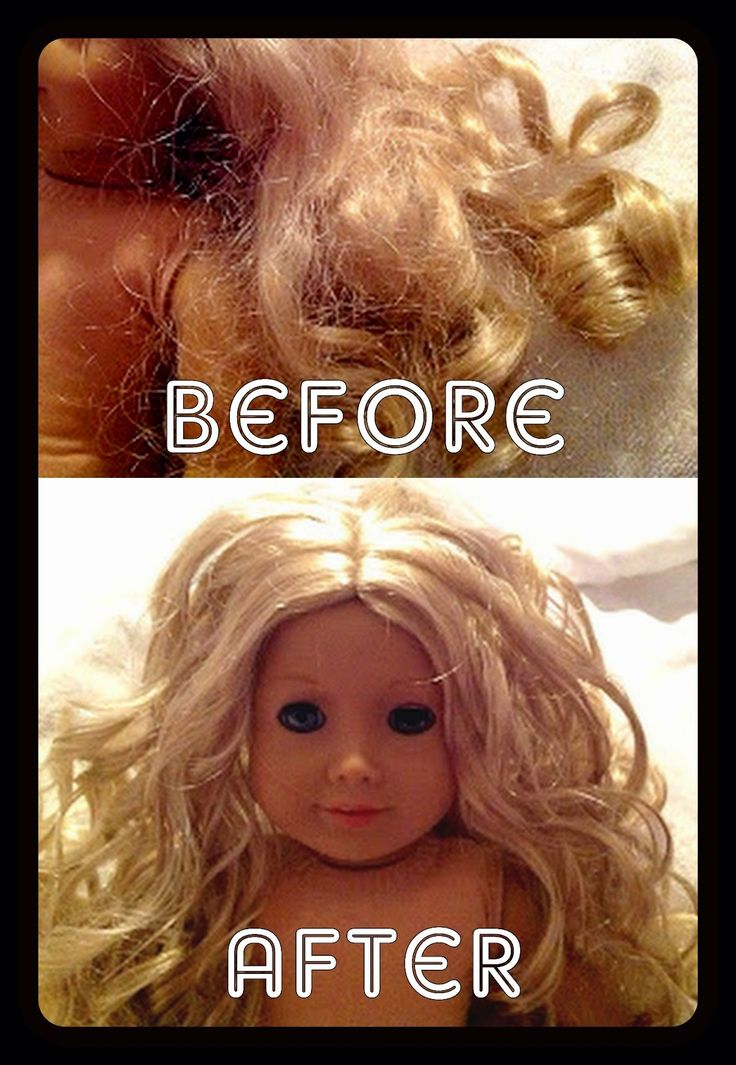 All Things With Purpose: {DIY} Fixing Your American Girl Dolls Hair without a Trip to the Doll Hospital