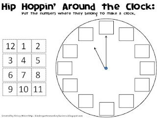 44 best images about Kindergarten - telling time on Pinterest ...