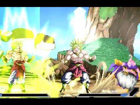 DBZ Games - Majin Buu & Evil Kid Buu vs Broly (2)