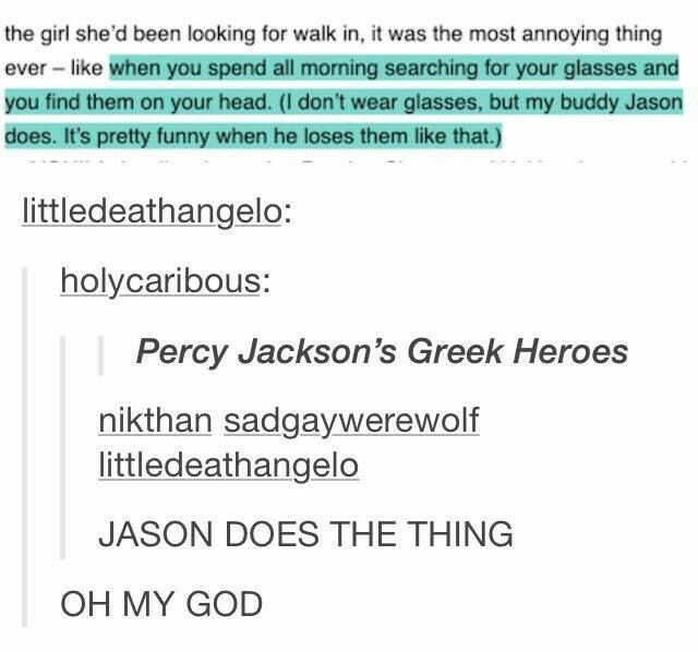 Percy Jackson, Jason Grace