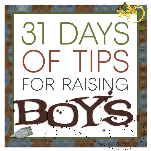 Got Boys?? Check out 31 Days of Tips for Raising Boys - Everything from potty training boys to dealing with their endless energy.  Everyday for a month, Kara from The Joys of Boys, discusses the most common questions she gets about raising her 4 boys.
