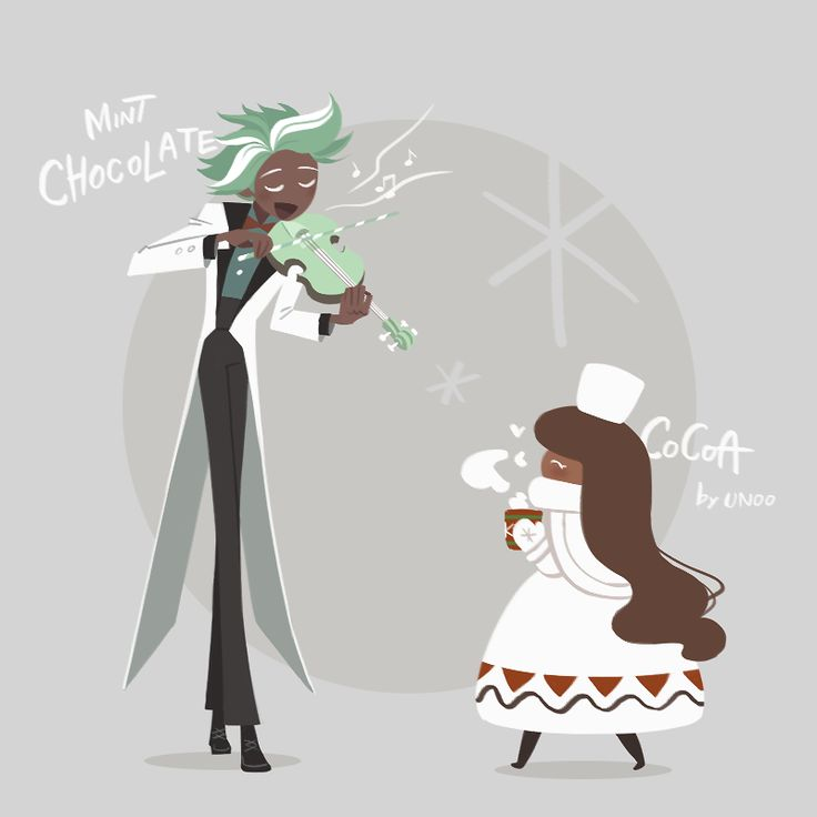 mint choc and cocoa